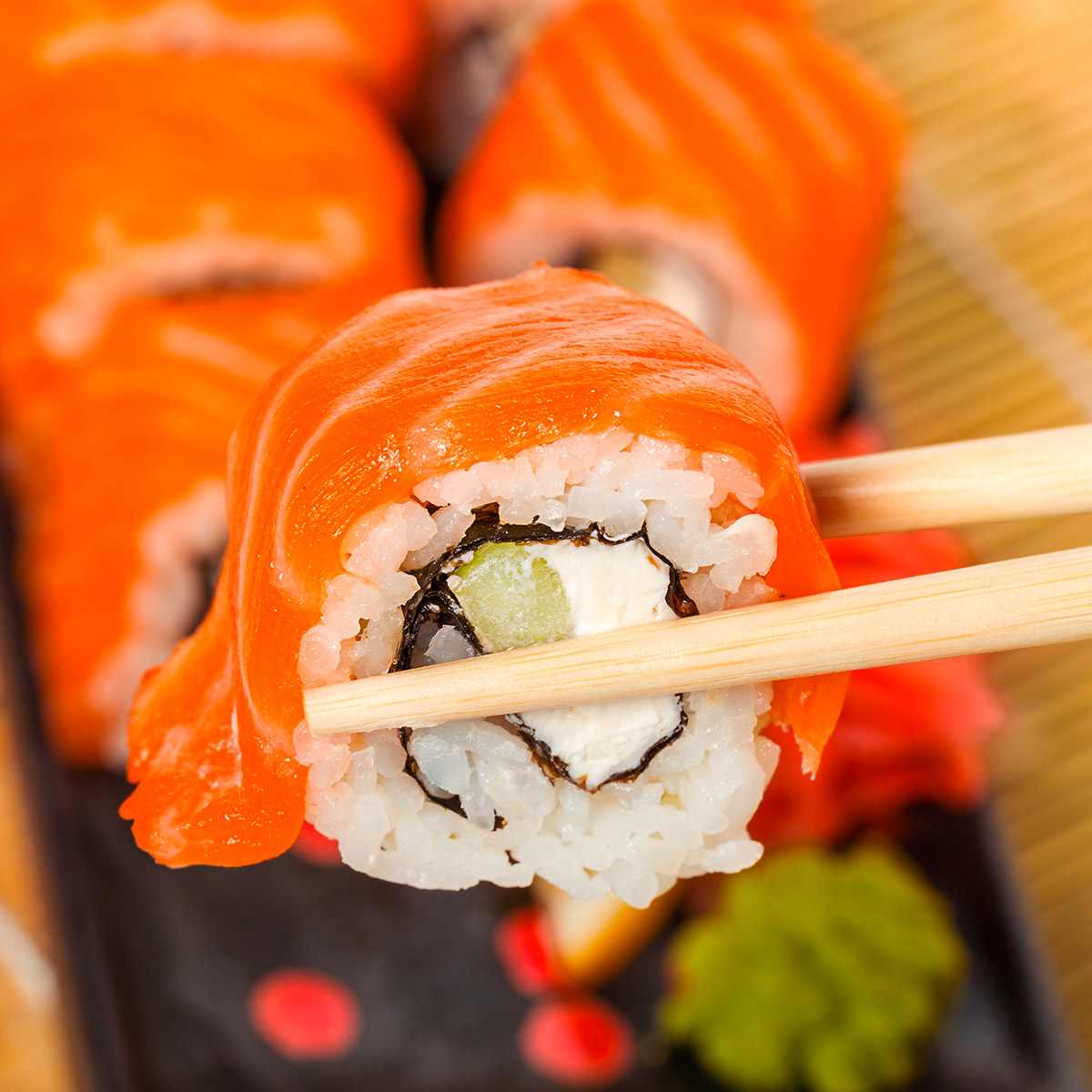 White Blend Food suggestion - Sushi
