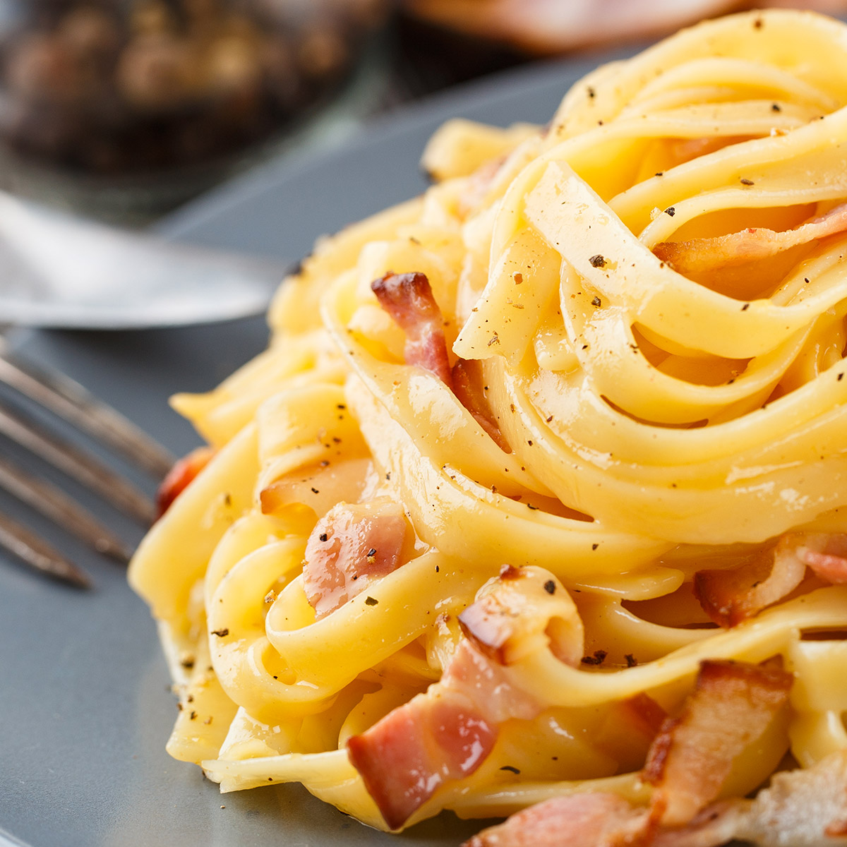 Pinot Grigio Food suggestion - Carbonara
