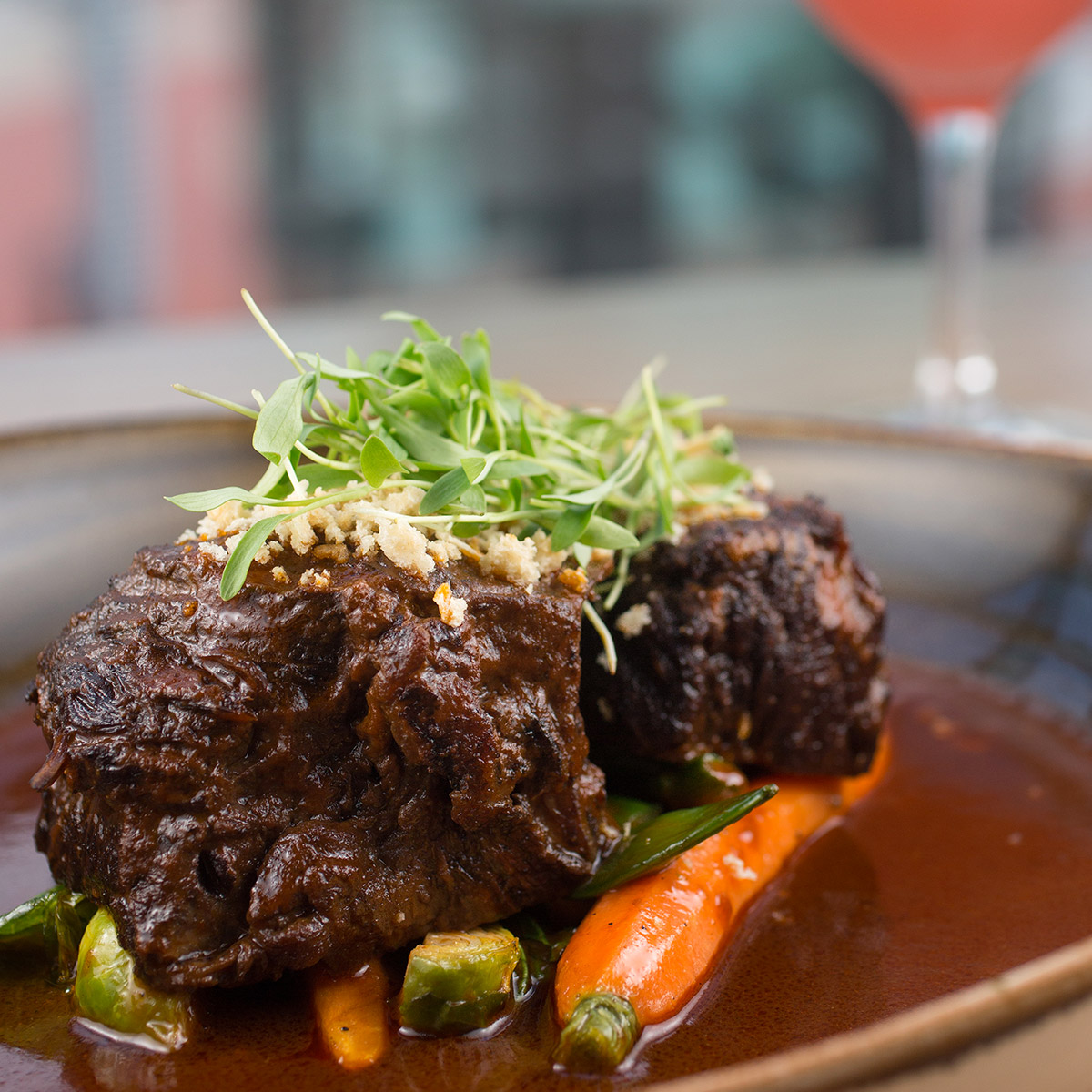 Cabernet Sauvignon Food suggestion - Braised Shortrib