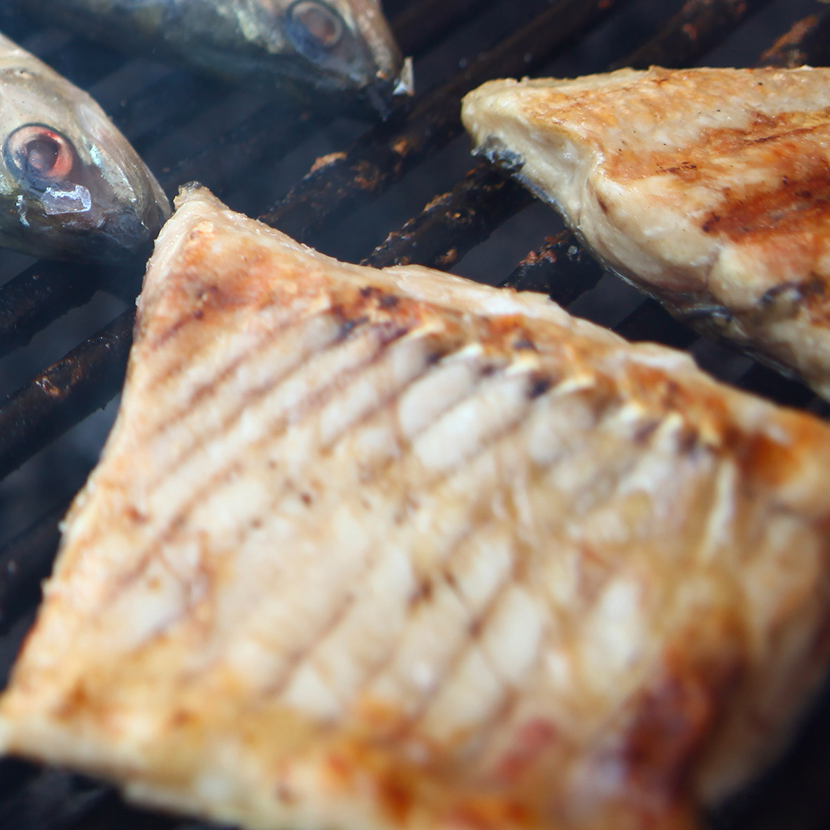 Pinot Grigio Food suggestion - Grilled Fish