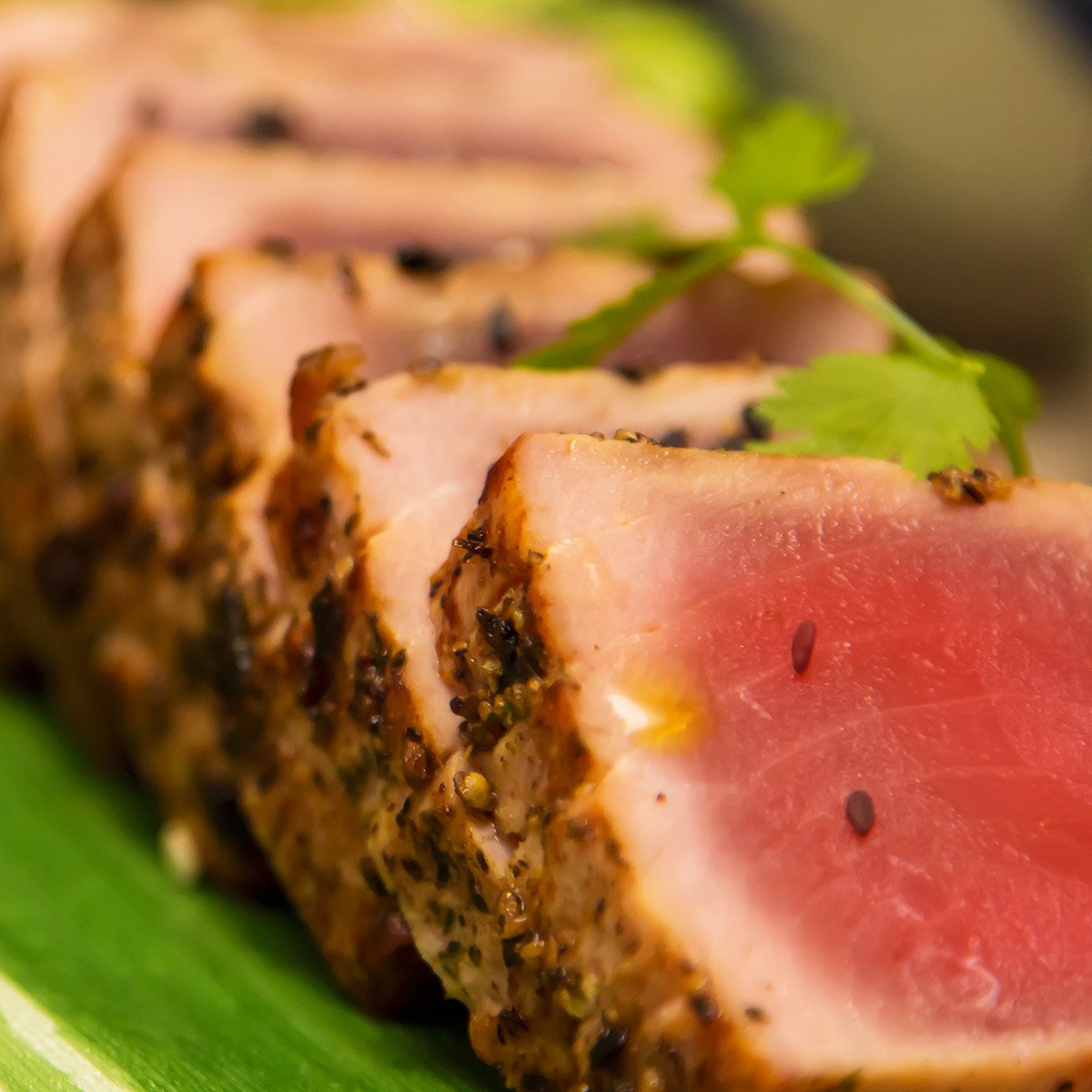 White Blend Food suggestion - Seared Tuna