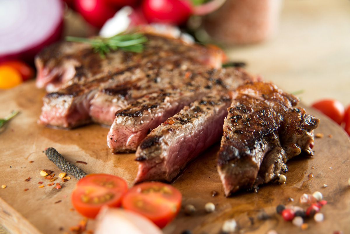 Merlot Food suggestion - Barbecued Steaks